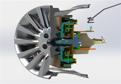 Tekerlek İçi Elektrik Motoru